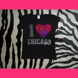 Victorias Secret Pink Chicago T-Shirt
